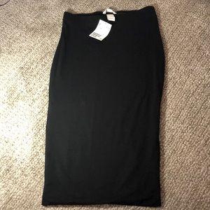 Body con midi skirt